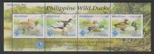 Philippines - 2007, Ducks, Birds sheet - Optd Asian Stamp Exh - MNH - SG 3961/4