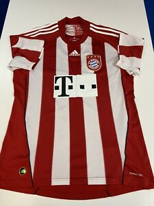 VINTAGE RARE ADIDAS CLIMACOOL BAYERN MUNICH SOCCER GAME JERSEY IN SIZE L