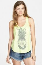 NEW RIP CURL PINEAPPLE PARADISE LIME TANK SHIRT TOP CAMI S SMALL V204