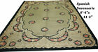 "An Antique Decorative European Spanish Savonnerie Rug  $1000.00 Reduction"""