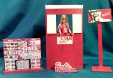 Barbie Sized KFC Restaurant Drive Thru Play Set Toy
