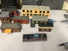 Vintage Triang Train Buildings X 8 ( Some Rare Buildings)