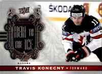 2017-18 Upper Deck Team Canada Heir To The Ice Travis Konecny #154