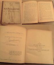 """LUMBROSO """" NAPOLEONE ED IL MEDITERRANEO"""" EDIZIONI L.N.I  1934"""