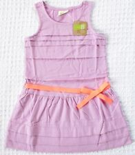 NEW Crazy 8 Baby Toddler Girls XS 4T Lavender Cotton Dress