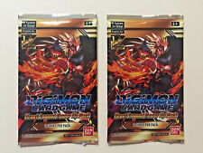 DIGIMON CARD GAME GREAT LEGEND POWER UP PACK X 2 ENGLISH VER BANDAI CCG TCG NEW