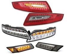 LED RÜCKLEUCHTEN + LED FRONTBLINKER + LED SEITENBLINKER PORSCHE 911 997 04-08