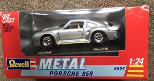 VINTAGE PORSCHE 959 .1:24 SCALE,1989/90,with boxes,N.O.S.MINT by REVELL