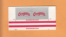 1970s WASHINGTON STATE COUGARS SMALL FOOTBALL GUMBALL HELMET DECALS