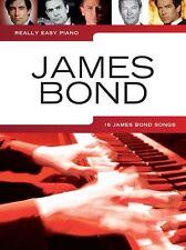 Really Easy Piano: James Bond -6 classic James Bond Theme Songs