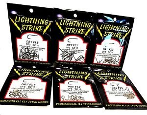 Lightning Strike Dry Fly - Select Size & Quantity ( One Package )
