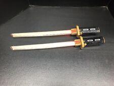 GI Joe Retaliation Snake Eyes Electronic Swords Lot Of 2
