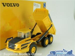 VOLVO A25G MODEL TIPPER TRUCK LORRY 1:50-1:64 SCALE NEW RAY CONSTRUCTION K8