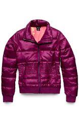 Women's Oakley Treeline Puffa Puff Ski Snowboard Winter Jacket Magenta Purple XL