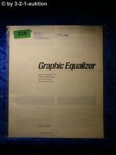 Sony Bedienungsanleitung SEQ V901 Graphic Equalizer (#0226)