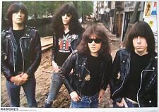 "Ramones POSTER ""Amsterdam' 77"""