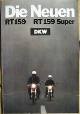Prospekt Zweirad Union  -  DKW RT 159 - RT 159 Super