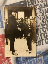 Vintage RPPC Boxing Postcard Jess Willard World Champion
