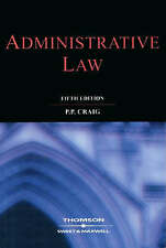 ADMINISTRATIVE LAW., Craig, P. P., Used; Very Good Book