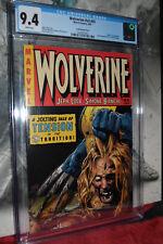 Wolverine #55 V3 CGC 9.4 Land Variant Cover rare New SLAB Not CBCS,PBX