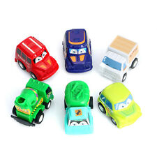 6pcs Classic Boy&Girl Truck Vehicle Kids Child Toy Mini Small Pull Back Car