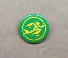 """Wizard of Speed and Time Logo 1.25"""" Repro Button Mike Jittlov WOSAT Magic Anim8o"""