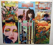 Shatter #s 2,3,5,6,8,11 (1986-87, First Comics) 6 issue LOT  VF- avg