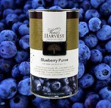 BLUEBERRY FRUIT PUREE VINTNERS HARVEST WINE BEER MEAD MOCKTAIL BASE 49oz CAN
