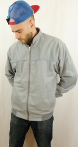 Vintage 80's 90's reversible Bomber Jacket XL Made in England