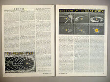Fred Hoyle & Lyttleton Scientific Discovery MAGAZINE ARTICLE - 1950 ~ Time