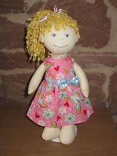 Puppenkleidung, Kleid, Stoff Puppe 30cm, neu, (ohne Haba Puppe), 1557