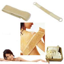Exfoliating Loofah Back Strap Bath Shower Massage Scrubber Sponge Spa Body Brush