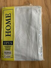 "Blackout Curtain Linings X 2 - 60"" X 60"" NEW"