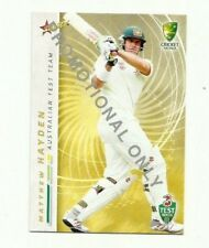 2007 SELECT CRICKET AUSTRALIA MATTHEW HAYDEN #7 PROMO CARD FREE POST
