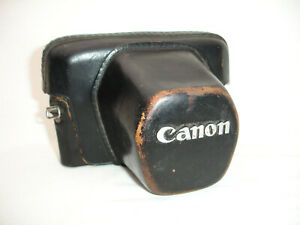 CANON FT ql leather camera case / pouch  Genuine  , Vintage