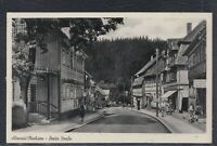 42509) AK Altenau Oberharz Breite Straße 1958 Clausthal-Zellerfeld