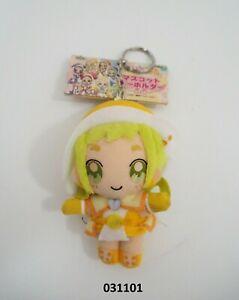 "Ojamajo Doremi 031101 Momoka Asuka Banpresto 2002 Mascot Keyring Plush 4"" Japan"