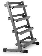 XMark 3 ft. Four Tier Dumbbell Weight Storage Rack Stand XM-3109.1 NEW