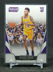 2016-17 Panini Threads Brandon Ingram RC, Rookie Card, Lakers / Pelicans