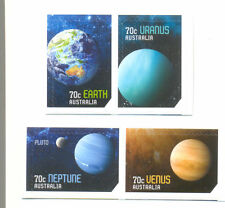 Australia-Our Solar System self-adhesive set of 4 mnh 2015 issue Space
