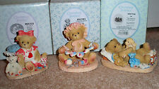 Cherished Teddies Lot of 3 Candy, Zinnia Special Edition & Ira 2001 2006