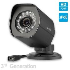 Zmodo™ 720p sPoE HD Outdoor IP Network Camera ZP-IBH15-S Female MicroUSB 3rd Gen