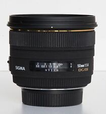 Sigma 50mm F1.4 EX DG HSM AF for Nikon