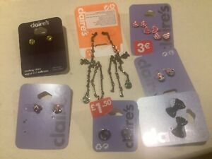 Claires earrings accessories bundle exdisplay bundle no4
