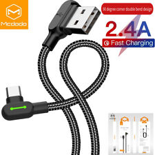 MCDODO USB C Cable Type C Fast Charger Cord Samsung Note 20 Ultra S20 Note10 S10