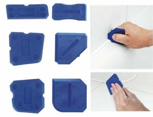 6X Replacement Fugi 6 Piece Grouting & Silicone Profiling & Applicator Tool Kit
