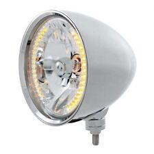 """UNITED PACIFIC """"CHOPPER"""" Headlight - 34 Amber LED H4 Bulb 32553"""