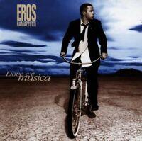 EROS RAMAZZOTTI - DOVE C'E MUSICA/GERMAN VERSION  CD  12 TRACKS ITALO POP  NEU