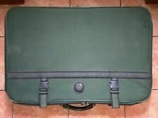 SUITCASE -LIGHT WEIGHT GREEN COLOUR USED 30 INCHES LEFT TO RIGHT