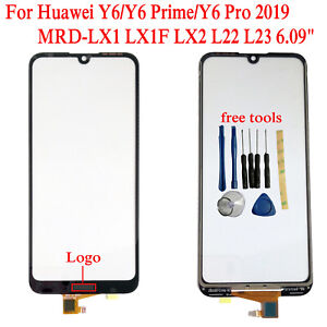 """Original 6.09"""" For Huawei Y6/Y6 Prime 2019 MRD-LX1 LX1F Outer Glass Touch Screen"""
